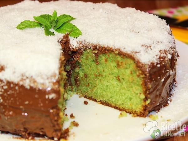 Come fare la torta menta cocco e Nutella