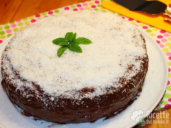 Ricetta torta menta cocco e Nutella