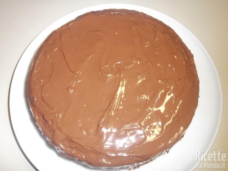 Torta menta cocco e Nutella 9