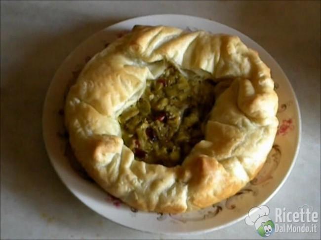 Ricetta Torta Salata con Melanzane e Speck