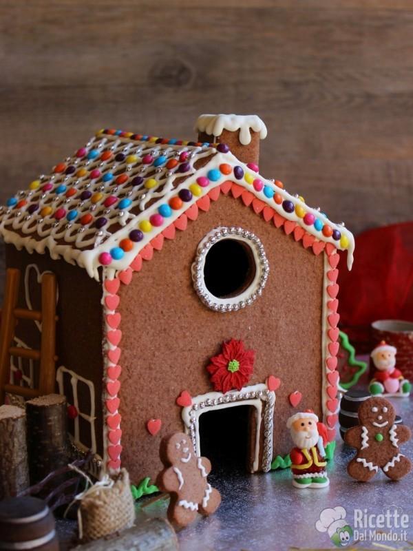 Come fare la Gingerbread house - casetta di pan di zenzero
