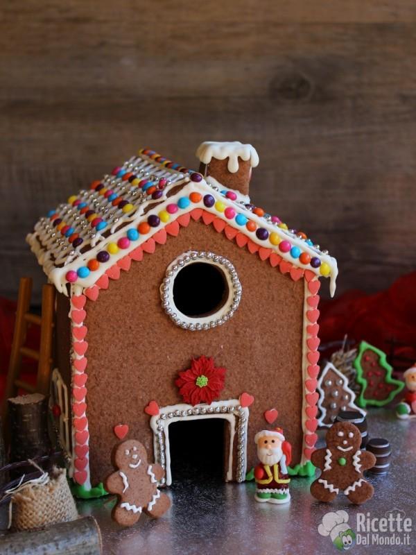 Gingerbread house (casetta di pan di zenzero)