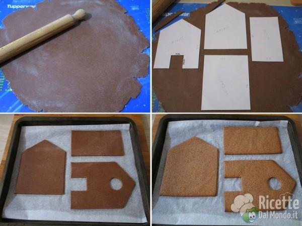 Gingerbread house - casetta di pan di zenzero 5