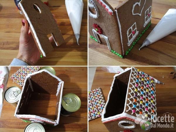 Gingerbread house - casetta di pan di zenzero 7