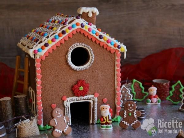 Ricetta Gingerbread house - casetta di pan di zenzero