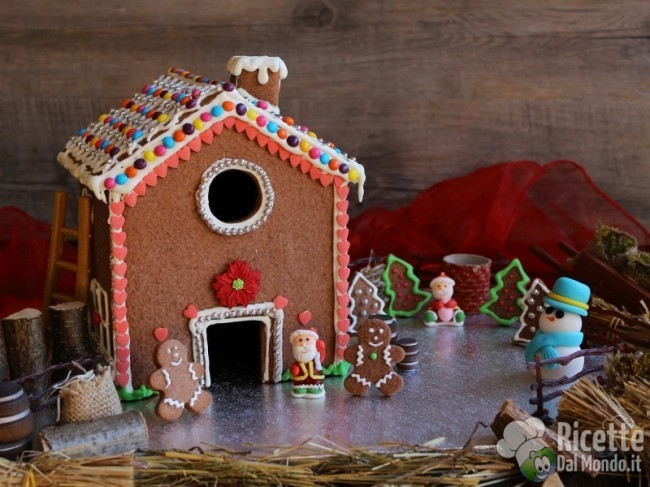 Ricetta Gingerbread house (casetta di pan di zenzero)