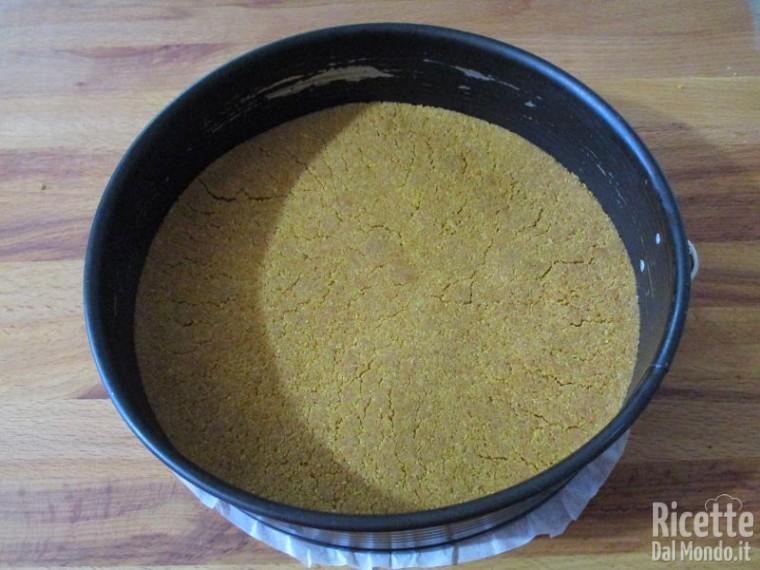 Torta fredda di confettura di mirtilli 3
