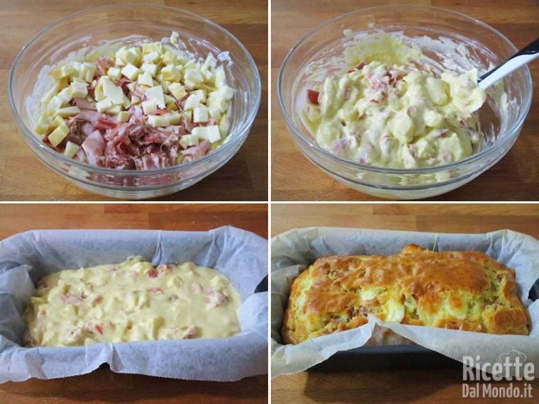 Cuocere il plumcake in forno caldo