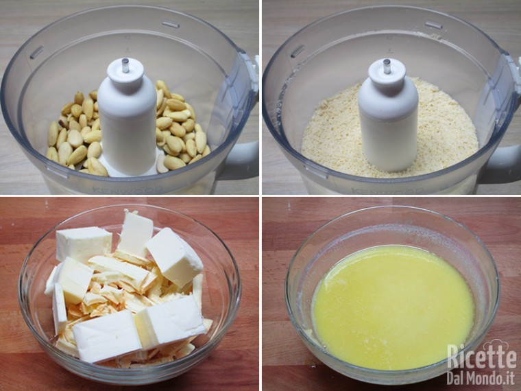Torta caprese al limone 2