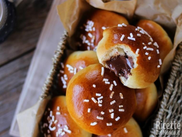 Ricetta panini alla Nutella Bimby