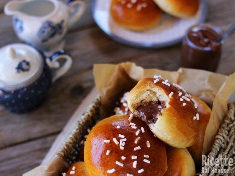 Come fare i panini alla Nutella Bimby