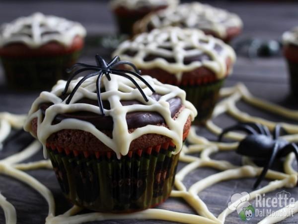 Muffin ragnatela per bambini
