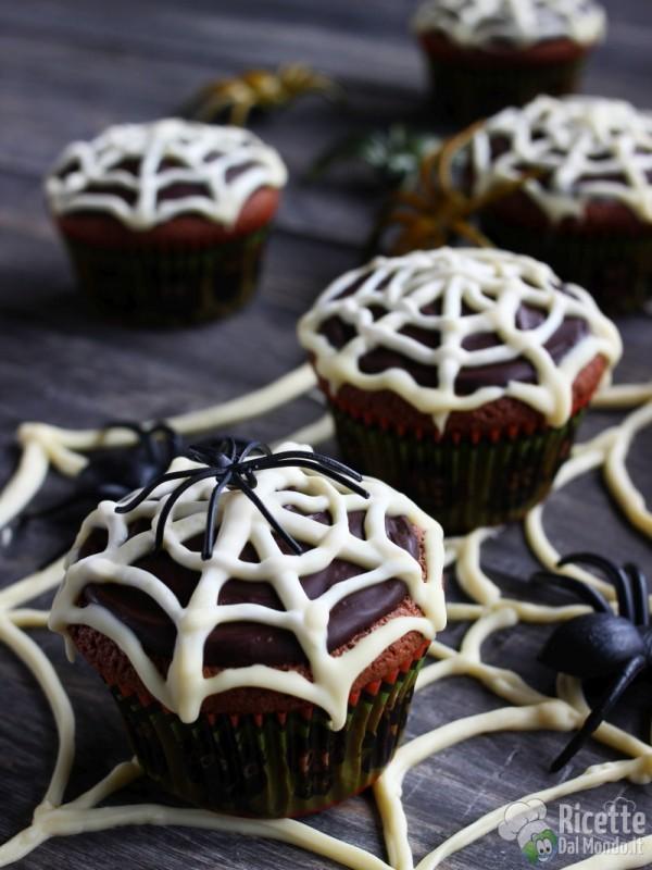Come fare i muffin ragnatela