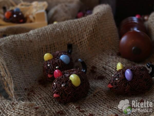 Ricetta topolini di cioccolato