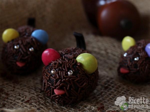 Ricetta topolini di cioccolato di Halloween