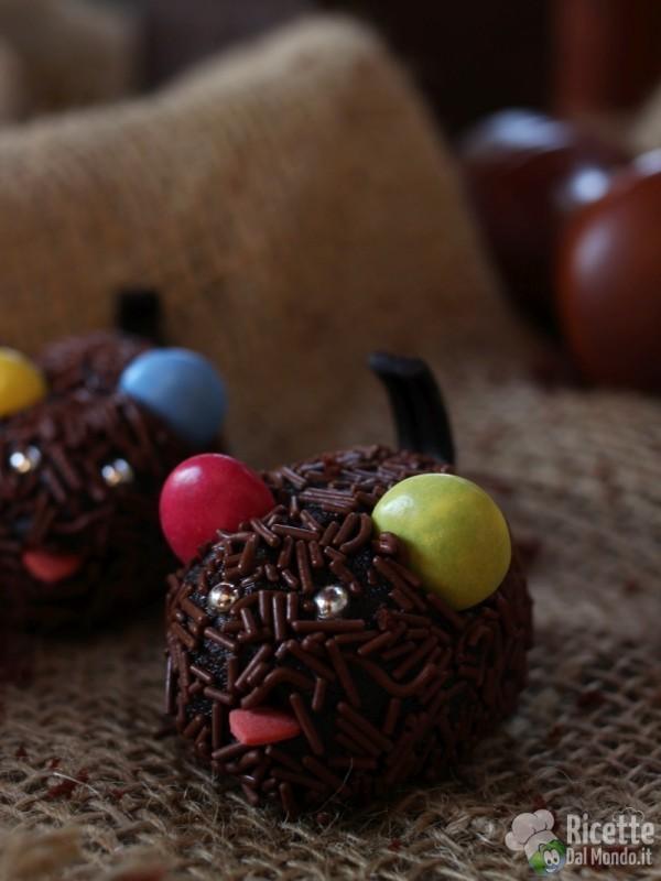 Topolini di cioccolato per bambini