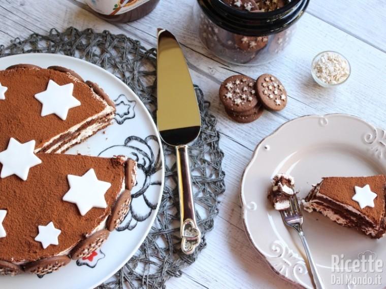 Torta pan di stelle e Nutella