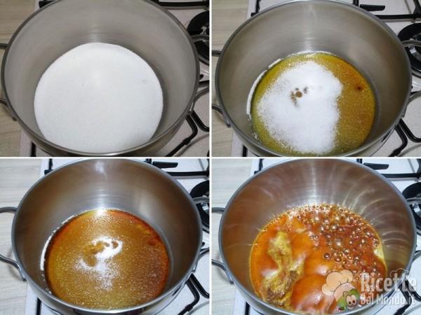 Cheesecake cotta alla zucca con caramello 9