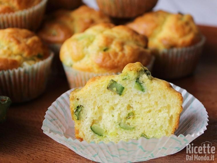 Ricetta muffin alle zucchine