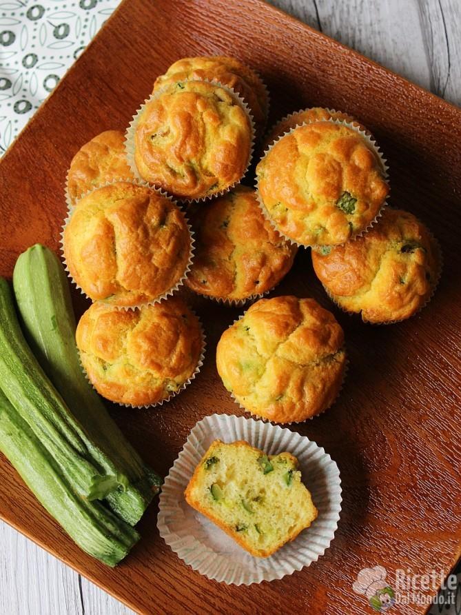 Come fare i muffin alle zucchine