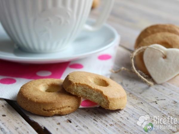 Ricetta biscotti alla panna tipo Macine