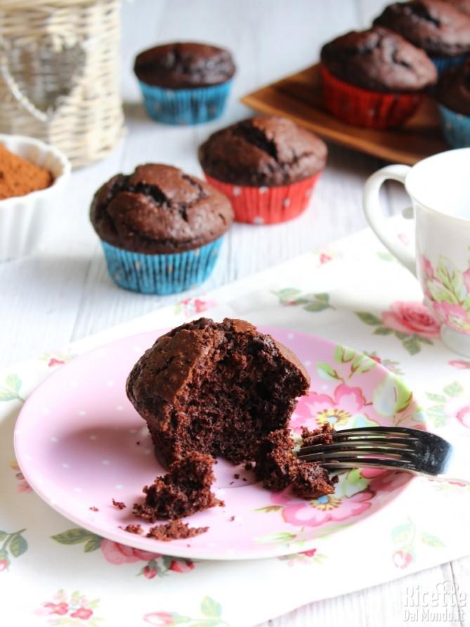 Come fare i muffin al cioccolato