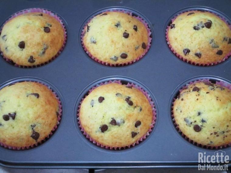 Muffin con gocce di cioccolato 9