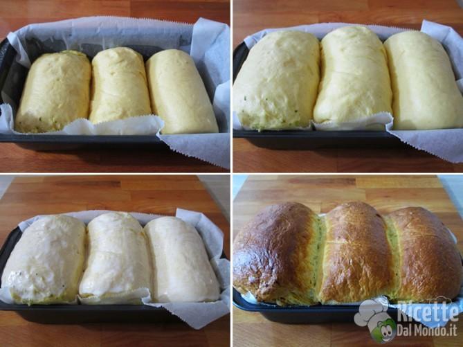 Fate lievitare il pane poi infornate