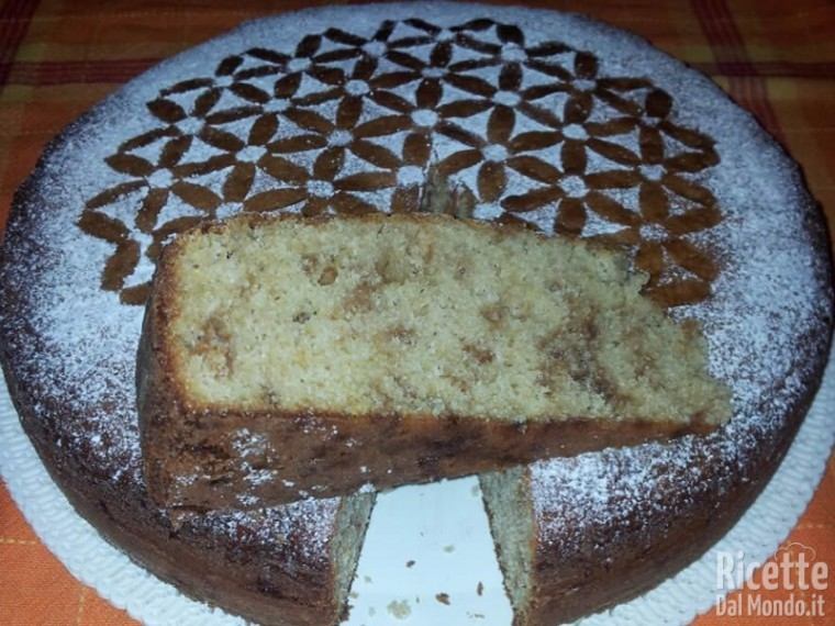 Torta con Yogurt di Capra all'Albicocca