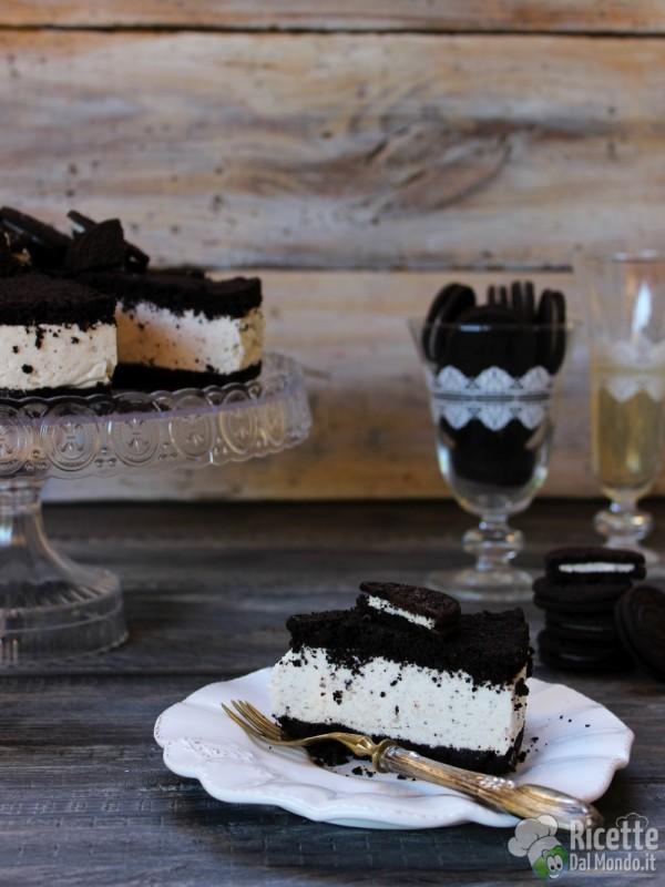Come fare la cheesecake Oreo senza cottura