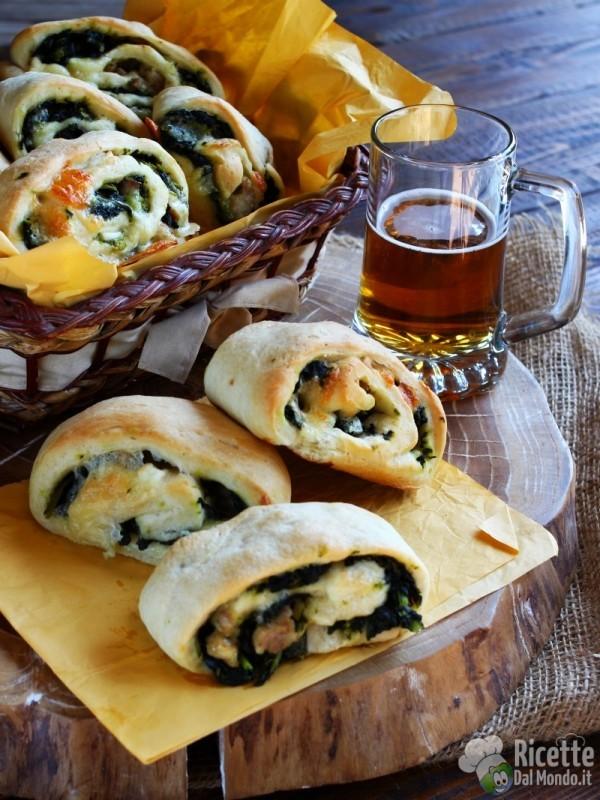 Ricetta panini napoletani salsiccia e friarielli
