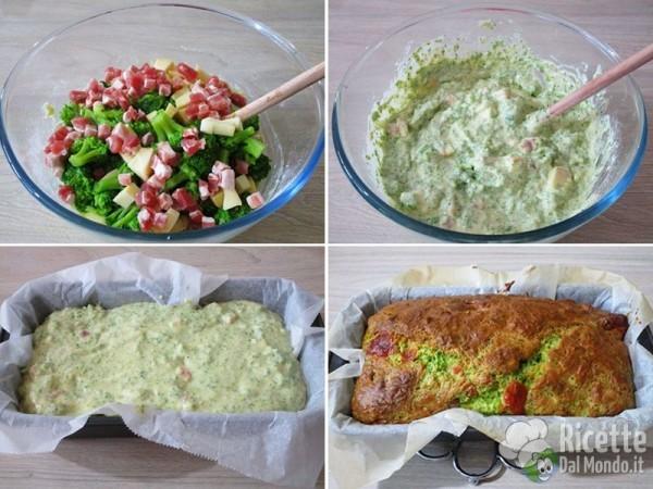 Plumcake broccolo, pancetta e provola 5