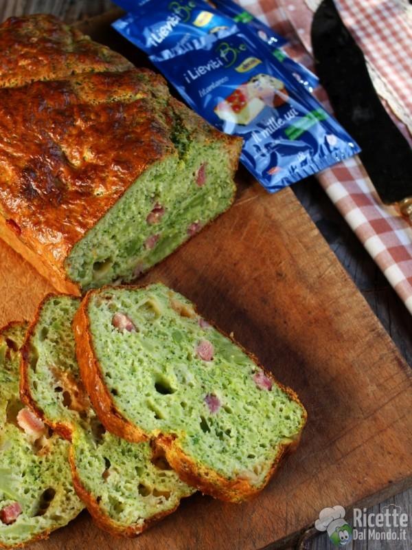 Come fare il plumcake salato con broccolo e provola