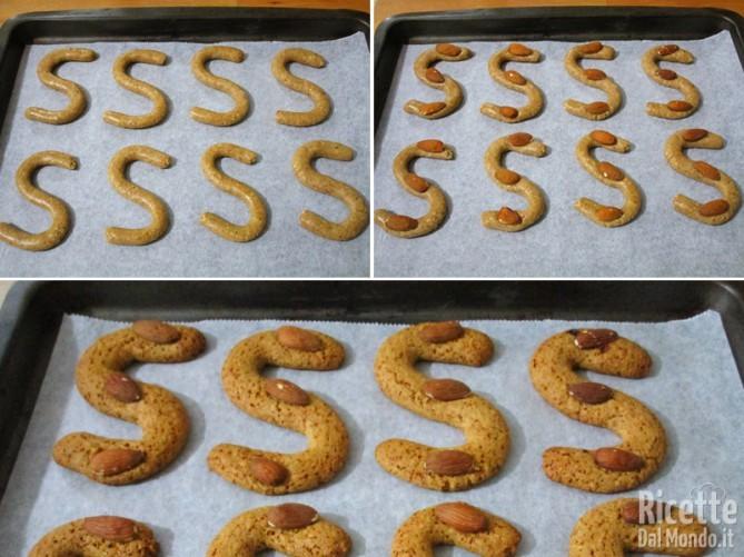 Cuocere i biscotti in forno preriscaldato