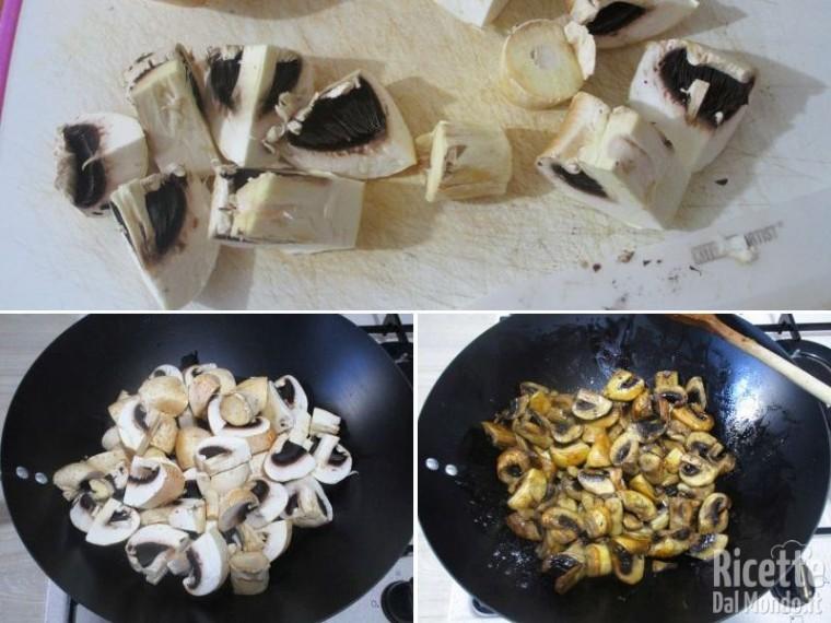 Vol au vent ai funghi champignon 2