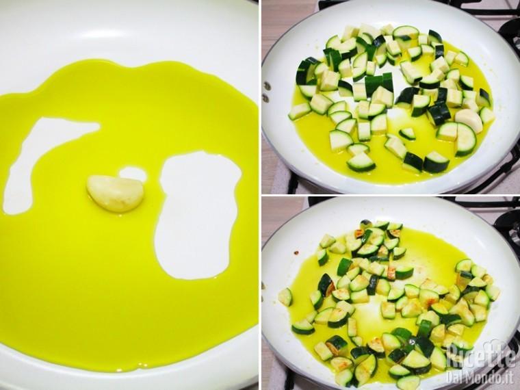 Merluzzo in padella con zucchine e pomodorini 3