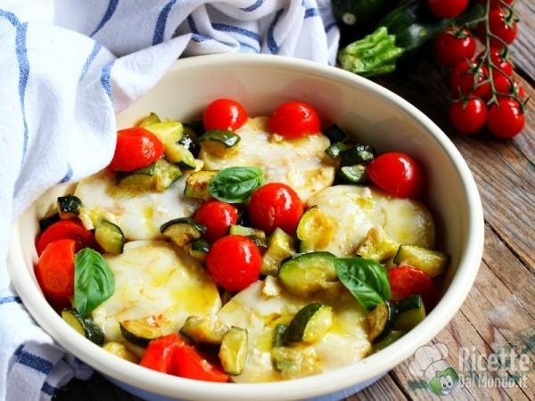 Ricetta medaglioni di merluzzo e zucchine