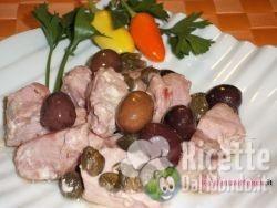 Bocconcini di Tonno con Olive e Capperi