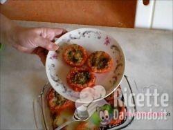 Pomodori al Forno Gratinati