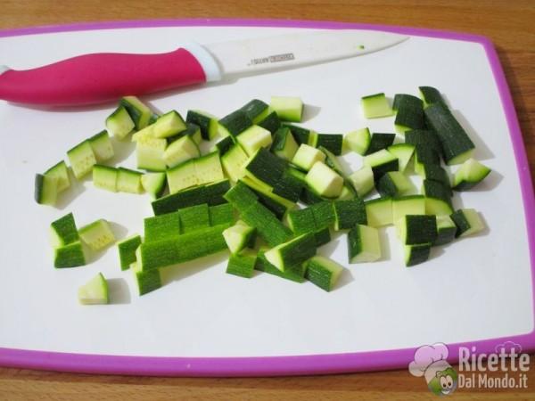 Carbonara vegetariana di zucchine 2
