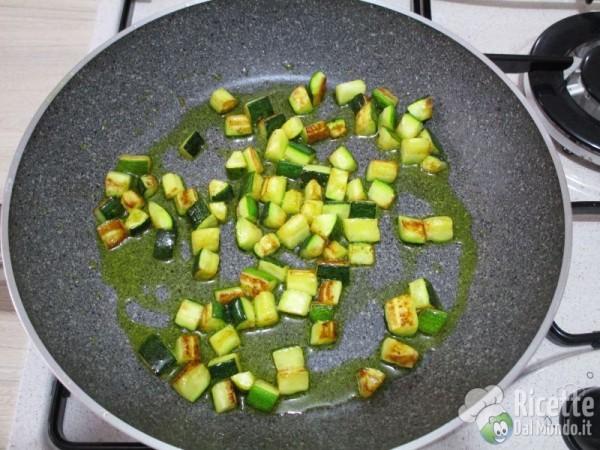 Carbonara vegetariana di zucchine 4
