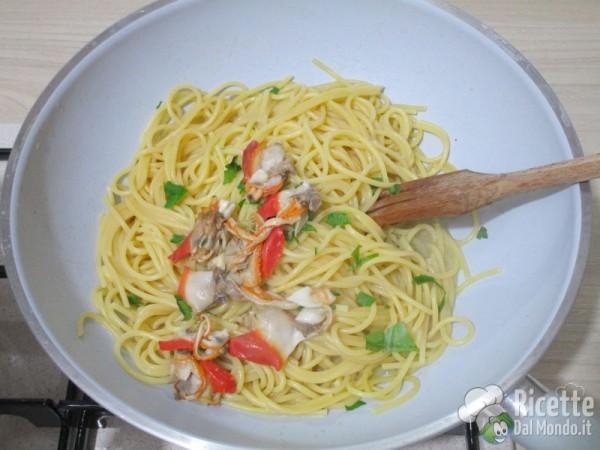 Spaghetti ai fasolari 9