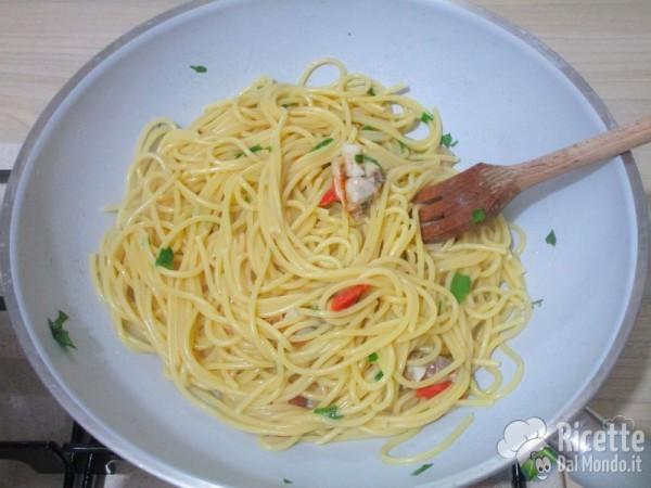 Spaghetti con i fasolari 10