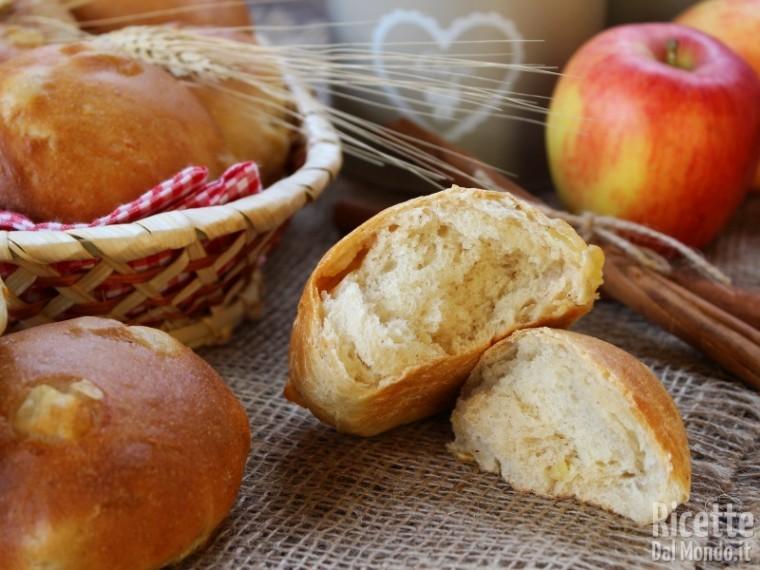 Ricetta Panini mele e cannella