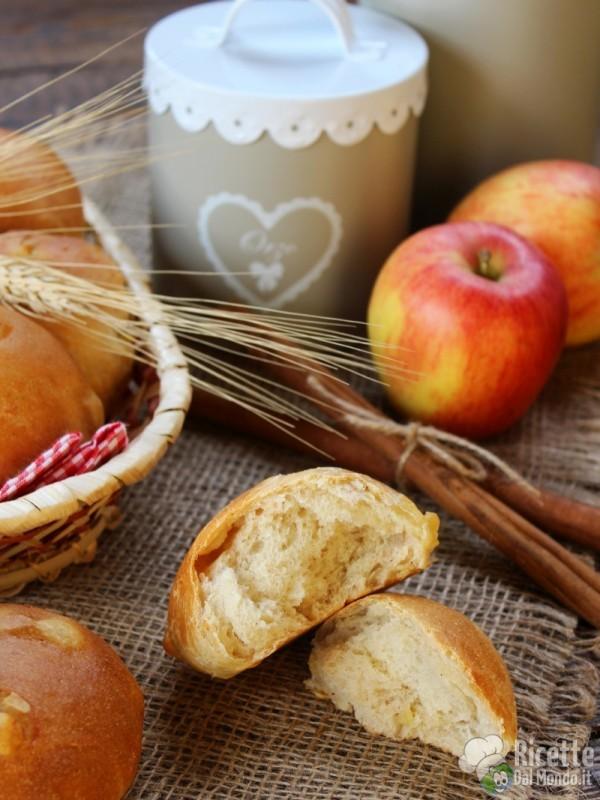 Come fare i Panini mele e cannella
