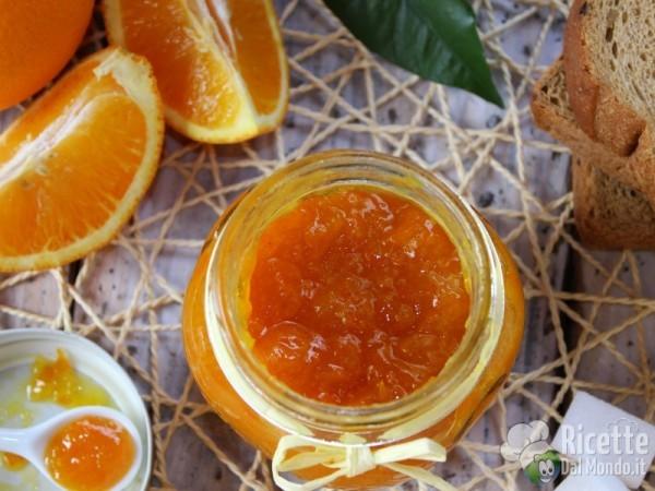 Ricetta della marmellata di arance