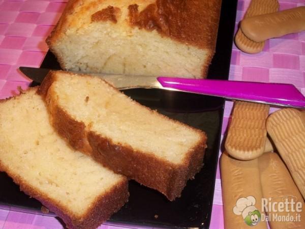 Plumcake al Biscotto