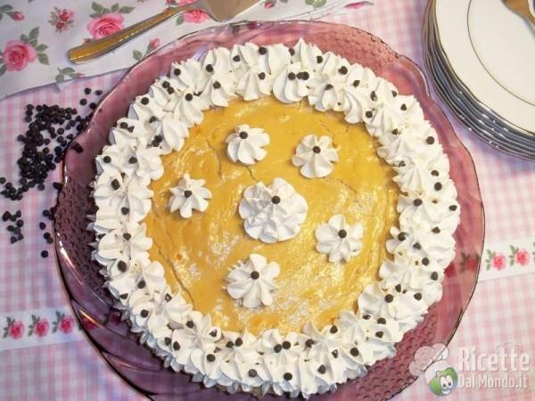 Cheesecake al caffè cotta al forno