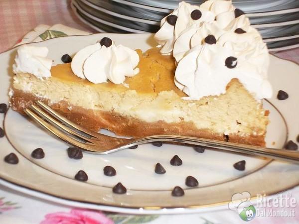 Cheesecake con philadelphia al caffè