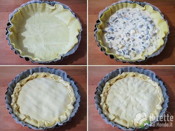 Torta rustica con le melanzane 4